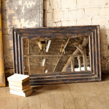 Andover Mirror, Distressed Navy made by Charming Rustic Accents.