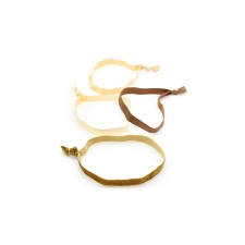 Gold Goddess Headbands, 4 Pieces