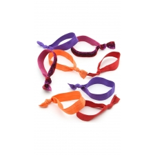 Berry Blitz Hair Ties, 8 Pieces