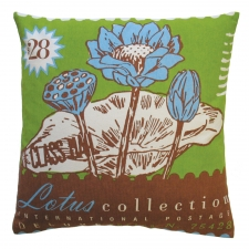 Lotus Toss Pillow
