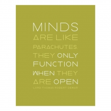 An Open Mind Print