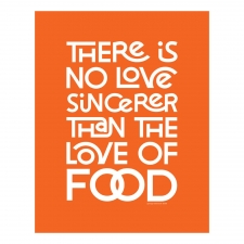 Love of Food Print