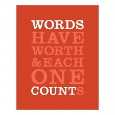 Word's Worth Print