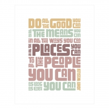 Do Good Print, Pastels