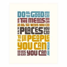 Do Good Print, Jeweltones