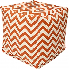 Rockbridge Cube,  Burnt Orange