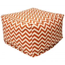 Rockbridge Ottoman, Burnt Orange