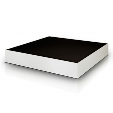 Salk Square Coffee Table, White