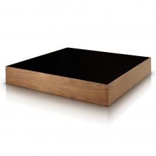 Salk Square Coffee Table, Walnut