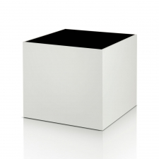 Salk Side Table,  White
