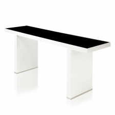 Salk Console Table, White