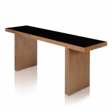 Salk Console Table,  Walnut