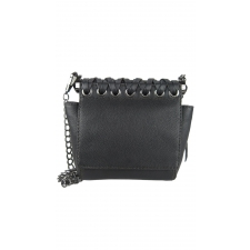 "Alana ""Mini"" Braided Crossbody - Black"