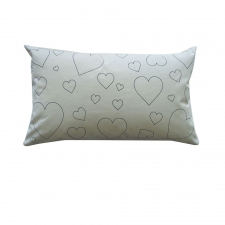 Lot's of Hearts DYO Pillow