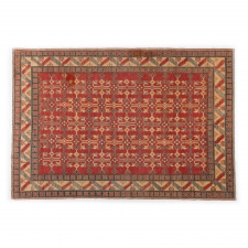 "Arous, 7' 2"" x 10' 6"" made by Persian Rug Bazaar .  One of a Kind"