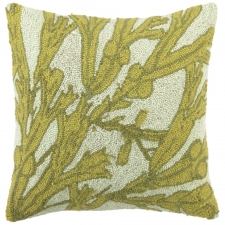 "18"" Sea Grass Hook Pillow"