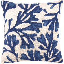 "18"" Blue Kelp Hook Pillow"