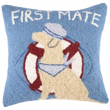 "16"" First Mate Hook Pillow"