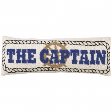 The Captain Bolster Hook Pillow