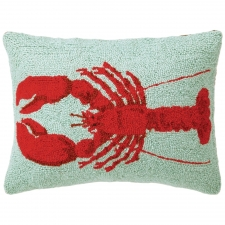 "14"" x 18"" Red Lobster Hook Pillow"