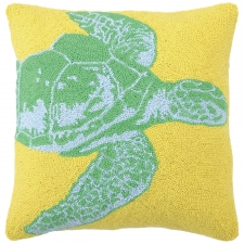 "18"" Swimming Turtle Hook Pillow"