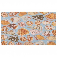 3' x 5' Seashells Hook Rug