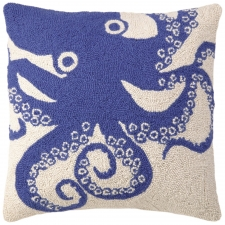 "18"" Floating Octopus Hook Pillow"