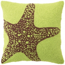 "18"" Starfish Hook Pillow"