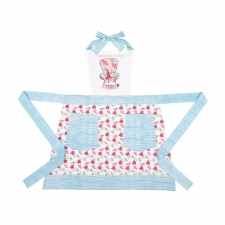 A Little Rest Apron, Blue