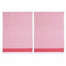 Celeste Kitchen Towel, Set of 2 made by The Couture Chef.