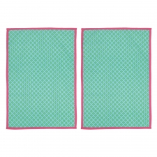 Alexis Kitchen Towel, Set of 2 made by The Couture Chef.