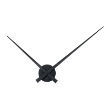 Lester Narrow Clock, Black
