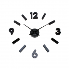 Numerical Simplicity Clock, Black