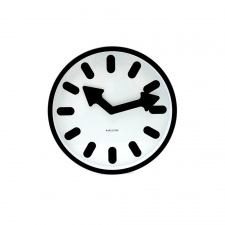 Wagner Clock, White