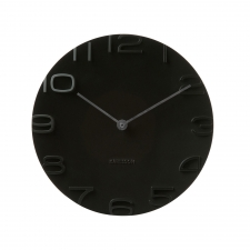 Cormier Circle Clock, Black