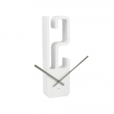 High Noon Clock, White