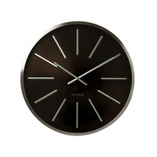 Montgomery Circle Clock, Black
