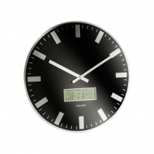 Maxwell Circle Clock, Black