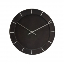 Eberson Circle Clock, Black