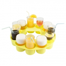 Yellow Sombrero Drink Tray