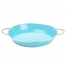 Blue Retro Serving Tray