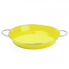 Yellow Retro Serving Tray