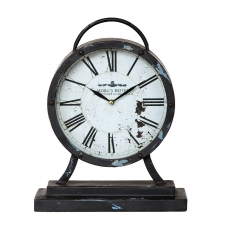 "13"" Iron Table Clock"