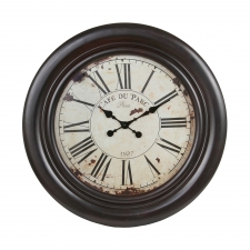 "28"" Vintage Wooden Wall Clock"