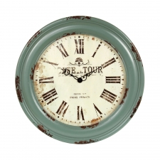 "31"" Vintage Wooden Wall Clock"