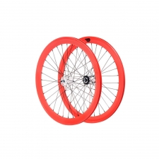 Glow Red 50mm Wheelset