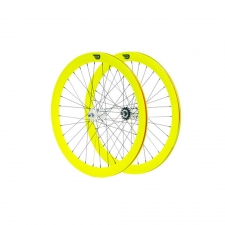 Glow Yellow 50mm Wheelset