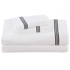 Black Baratto Sheet Set, Queen