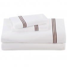 Chocolate Baratto Sheet Set, Cal King