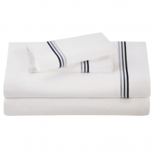 Baratto King Sheet Set, Admiralty Stripes